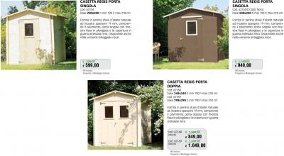 Promozione-arredo-giardino-Casette in legno