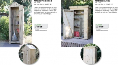 Promozione-arredo-giardino-Armadi da esterno in legno